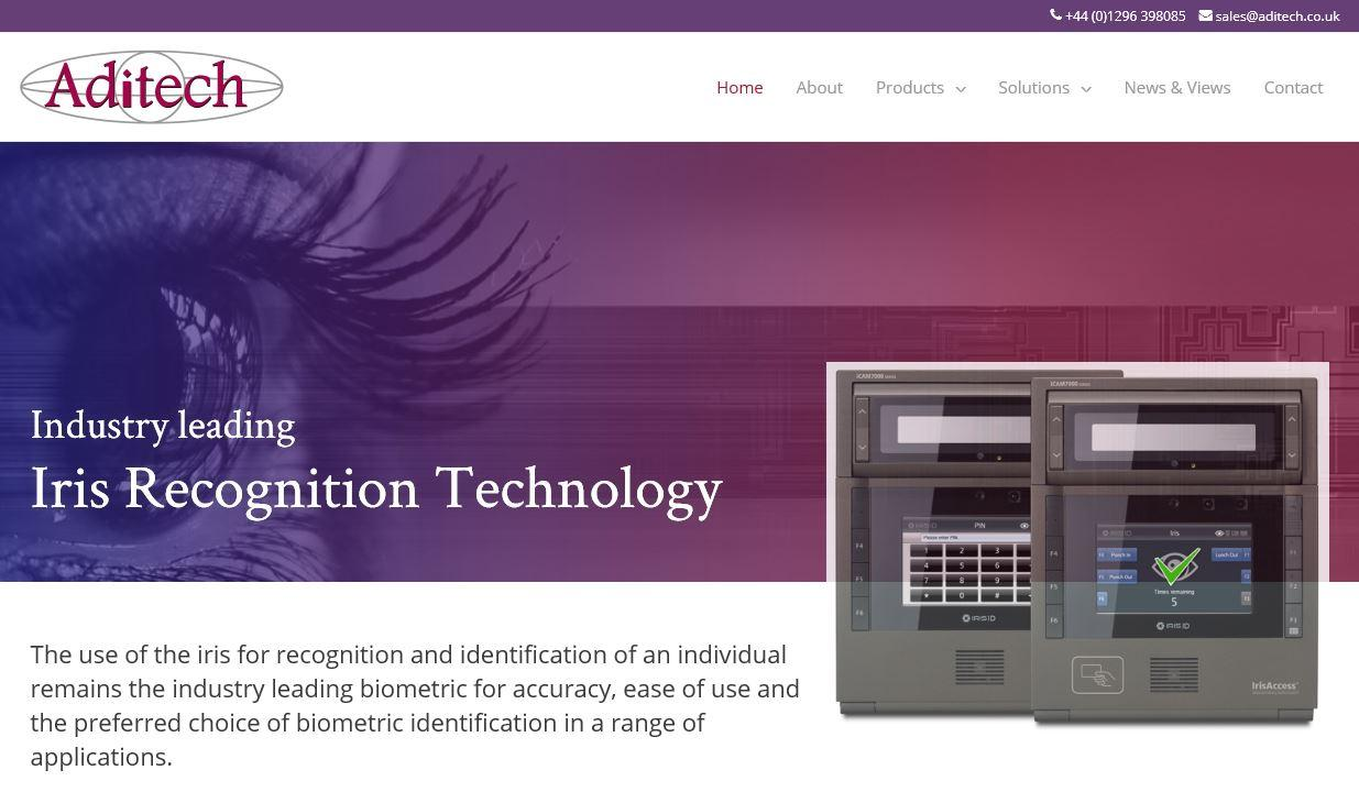 Aditech - Iris Recognition and Identification Solutions