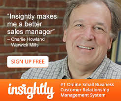 Insightly sales